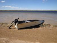 This is a 12 foot portable boat. It can be attached to