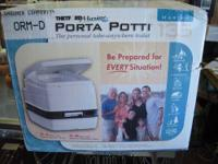 Porta Potti 135 Marine Portable Toilet New in box,