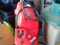 Portable 10 Gallon Gas Tank For Sale in Hickory,