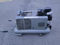 Portable Air Compressor 8 Gallon 5 HP Briggs and