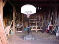 Portable & Adjustable Basketball Hoop Don't Use Any
