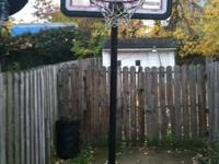 I have a Lifetime portable bball hoop that I have no