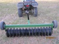 5ft culitipacker works great for smaller food plots
