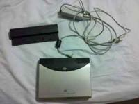 this is a used portable dvd player. 7in screen. it