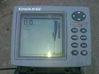 I have an Eagle fishmark 320 portable fish finder. Has