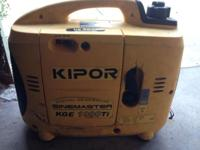 I have a kipor sinemaster kge 1000ti generator for