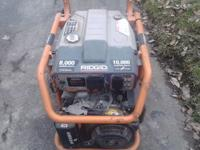 14hp electric start Subaru engine 10000 start 8000 run