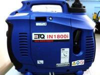 ETQ IN1800I OHV DIGITAL PORTABLE GAS INVERTER GENERATOR
