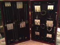 Store and display your jewelry in these portable