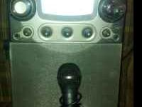 GPX Compact Karoke Party Machine with LCD screen; call