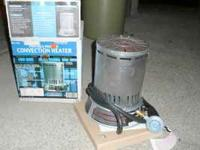 Portable Propane Convection Heater Good shape- used a