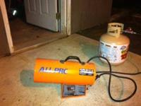 All-Pro Portable Propane Heater 40,000 BTU/HR Model