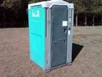 portable toilets can be made into hunting houses. call
