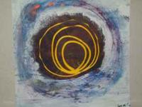 """Portal of Acquirition"" 2009 by LISA JO 12"" x 12"" on"