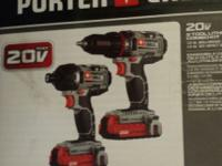 Porter-Cable PCCK604L2 20V Max Cordless Lithium-Ion