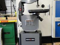 "Porter Cable BCB330BS 14"" Bandsaw With stand Band Saw,"