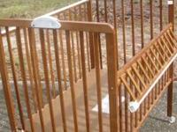 Lightweight, great for travel.  This crib is great to
