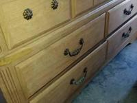 Type: Furniture Portofino Dresser Fair Condition Paid