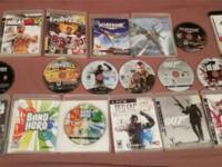 SELLING AL MY PS3 GAMES i have just over a dozen PS3