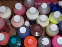 I have lots of poster paints, if you have a project you