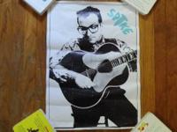 4 posters for sale.  Nick Lowe - Party of One. Elvis