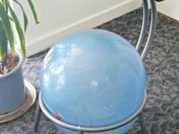 Posture ball chair. Its clean, sturdy, the ball holds