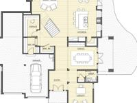 The open concept NorthWest modern Carillon Plan by