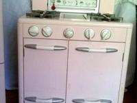 3 pc Wooden Kids KITCHEN SET / pink / GC Fridge / Stove