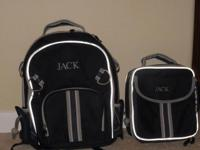 Pottery Barn for Kids Backpack and Lunchpack Navy Blue