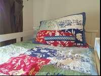 Pottery Barn Boys Hawaiian Bedding Set includes twin