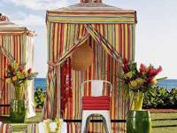 pottery barn striped cabana from the chesapeake outdoor