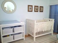 CHANGING TABLE - POTTERY BARN- Fully Loaded! (Margate /