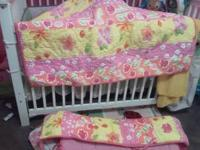 i have a pottery barn crib set it comes with comforter