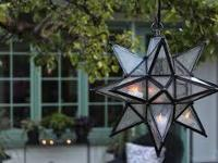 New, Pottery Barn Olivia star indoor/outdoor pendant