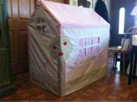 Pottery Barn playhouse for sale, great for kids to play