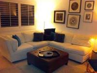 Amazing Pottery Barn Sectional for $900.00. It has
