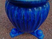 Pottery Market Ceramic Pots (Different Sizes) The Blue