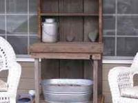 Potting Bench -  Location: Wenatchee