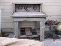 Potting Benches $125.00 each -  Location: Wenatchee