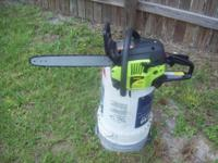 Very strong running poulan chainsaw for sale,ported to