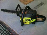 "Poulan Gas Chainsaw Model #P3314 33cc 14"" Asking $100"