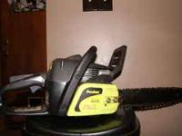 Poulan chainsaw for sale. It's in great condition.
