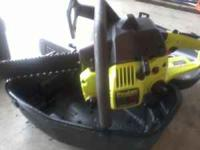 Got a real nice Poulan Chainsaw. It does have a 16 inch