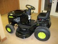 "Poulan Riding Mower For Sale 17.5 hp 42"" cut. Call"