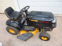 "Poulan pro 42"" inch Riding Tractor 18.5 HP B.S. Engine"