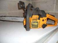 Poulan Pro Chainsaw, great condition, used around the