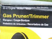 Poulan Pro Gas Prunner/Trimmer NEW 33cc Engine , Has