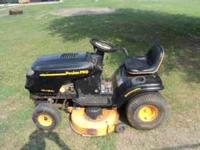 I have a Poulan Pro 18.5 HP Intek Twin 42'' Cut for