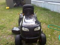 Poulan Pro Riding Lawn Tractor LESS than 3 yrs. old.