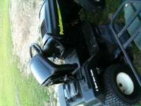 "Poulan Riding Mower W/42"" Cutting Deck 14.5 Briggs Very"